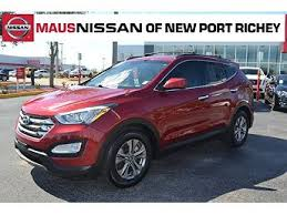 Hyundai Used Cars New Port Richey Used Hyundai Santa Fe For Sale In Tampa Fl With Photos Carfax