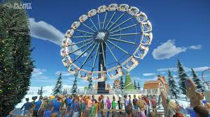 planet coaster free winter update out today new trailer released