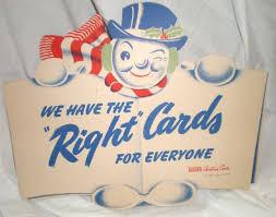 card invitation design ideas vintage store display ad