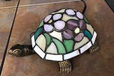stained glass turtle lamp ebay