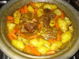 cuisine marocaine tajine agneau tajine d agneau aux carottes et topinambours paperblog