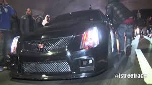 cadillac jeep i streetrace the uber cadillac cts v vs jeep cherokee srt8
