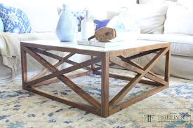 diy square coffee table ana white square x coffee table by firefinish diy projects