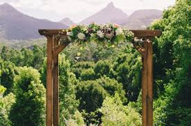 wedding arches hire cairns lovestruck wedding ceremony wooden arbour ok so this is like