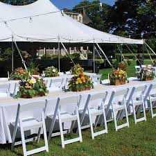 White Plastic Patio Chairs Stackable Oxford White Resin Folding Chair Folding Chairs