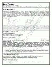 45 Best Teacher Resumes Images by Sample Teachers Resume Jobs Billybullock Us