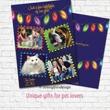 christmas photo cards custom printed 5 x 7 flat two sided