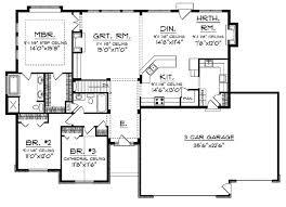 best open floor plans astounding design cottage style house plans with open floor plan 4