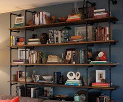 Industrial Pipe Bookcase 59 Diy Shelf Ideas Built With Industrial Pipe Plumbing Pipe
