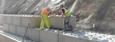 interlocking concrete blocks for retaining wall structures elite