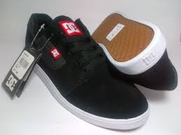 Sepatu Dc dc casual suede black shoes shop id