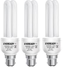 buy eveready eld 15 watt cfl white and pack of 2 online at low