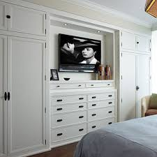 Efficient Use Of The Space  Clever Ideas Of BuiltIn Drawers - Bedroom wall closet designs