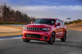 2018 jeep grand cherokee limited 2018 jeep grand cherokee trackhawk starts at 86 995
