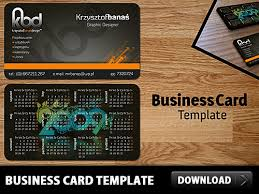 free business card template psd psd