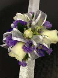 purple corsage white purple statice corsage in clearfield ut chelle s