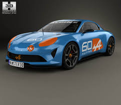 renault alpine a310 rally renault alpine a110 1970 3d model hum3d