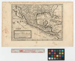 Gulf Coast Of Florida Map by A Map Of Mexico Or New Spain Florida Now Called Louisiana And