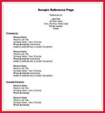 Resume References Format Example by 100 References On Resumes Should You Include References On