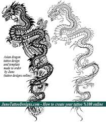 asian designs asian dragon tattoo back juno tattoo designs how to create a