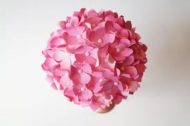 Paper Flower How To Make Diy Paper Flower Pom Wedding Centerpieces Instyle