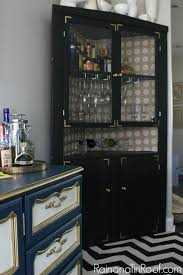 Black China Cabinet Hutch by 15 Hutch Update Corner Hutch Hutch Cabinet And Hutch Makeover