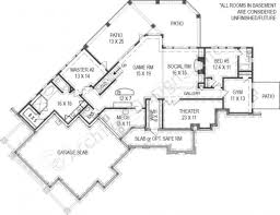house plans with basement 24 x 44 chestatee river rustic house plan mountain house plan