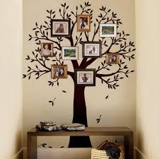 narrow family tree wall decal tree wall decal for picture frames narrow family tree wall decal