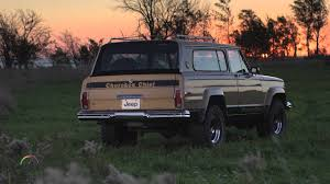 kaiser jeep wagoneer 1963 1983 jeep wagoneer youtube