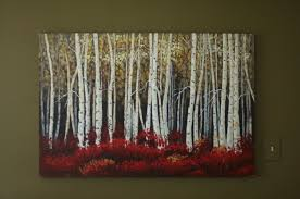 birch tree decor birch tree paintings home painting ideas image of abstract loversiq