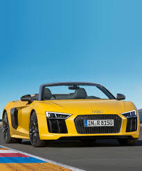 future audi r8 r8 spyder v10 supercar redefines open top performance