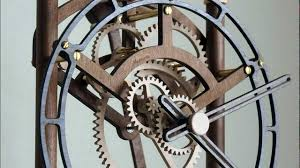 7 Free Wooden Gear Clock Plans by Quintus Wooden Clock Youtube
