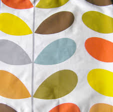 Curtain Fabric Ireland Orla Kiely 100 Cotton Fabric Multi Stem Curtain Fabric
