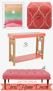 lush fab glam blogazine bright colorful and beautiful summer look 1 coral home decor