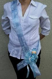 baby shower sash giraffe baby shower sash for the to be blue boy