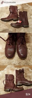 s lace up combat boots size 11 wine colored lace up combat boots size 11 nwt