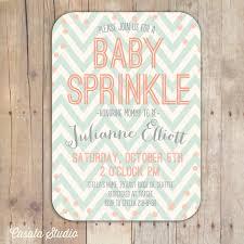 sprinkle shower and mint baby sprinkle baby shower invitation bridal shower