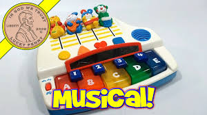 baby toys with lights and sound fisher price sound mixing board musical light up piano 2000 youtube