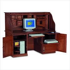 Traditional Computer Desks Furniture Traditional Solid Wood Computer Desk Design Ideas