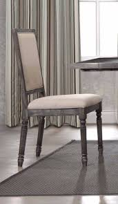 best master lisa smoked gray dining table set oc furniture smoked gray taupe fabric chair