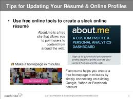 Create A Free Online Resume by Still Job Searching Tips For Updating Your Online Resume U0026 Profiles