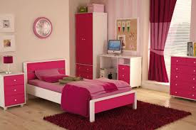 pink wall light pink and red bedroom that can be decor with white
