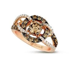 levian engagement rings le vian 14k gold chocolate diamond loop shank ring