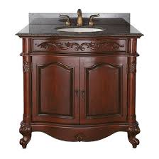 avanity provence single 36 inch traditional bathroom vanity