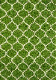 Green Trellis Rug Large Modern Green Trellis Shaggy Carpet Contemporary Soft Area