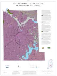 Monroe Michigan Map by Dnr Aquifer Systems Maps 05 A And 05 B Unconsolidated And