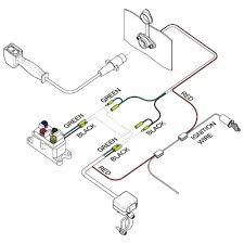 ramsey winch solenoid wiring diagram electric within champion