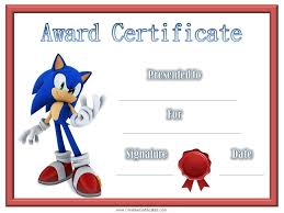 children u0027s certificates free and customizable instant download