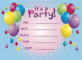 birthday party invitations birthday party invitations template birthday party invitations