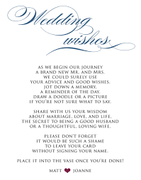 wedding wishes poem guestbook poem something different than just sign here found on
